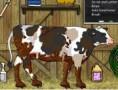 لعبة تنظيف البقرة من الاوساخ
