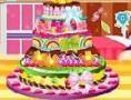 لعبة تحضير الكيكة بخمس طبقات