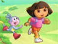 لعبة دورا و موزو و الثعلب سنغر سارق البالونات