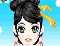 لعبة مكياج الفتاة اليابانية الجذابة