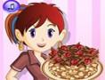 لعبة طبخ كيكة الشيكولاتة مطبخ سارة
