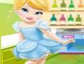 لعبة تنظيف مطبخ سندريلا الوسخ