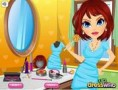 لعبة تنظيف البشرة اثناء الاستحمام