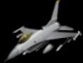 لعبة طيارة F16