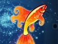 لعبة تزيين السمكة الذهبية