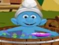 لعبة استحمام سنفور